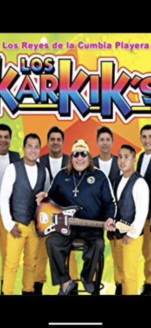 TWO TICKETS FOR LOS KARKIS for Sale in Las Vegas, NV