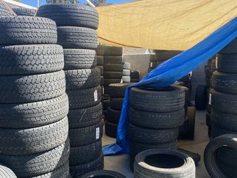 USED TIRE SALE (LLantas Usadas ) 75% tread starting $35** TEXT TIRE SIZE NOW!! *YOUR LOCAL TIRE SHOP for Sale in Santa Ana,  CA