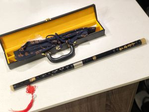 D Key Dizi Professional Rosewood Flute for Sale in Chicago, IL