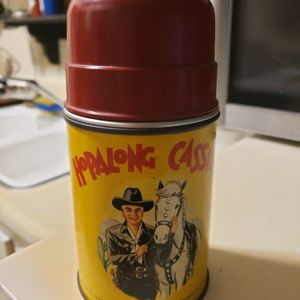 Hopalong Cassidy vintage lunch Box thermos for Sale in Covina, CA