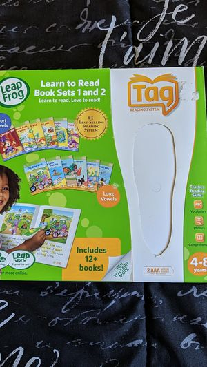 Leap frog book sets 1 and 2 for Sale in Los Alamitos, CA
