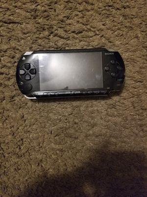 All Black 1st Gen PSP Hard Modded Plays Retros and PSP for Sale in Glendale, AZ