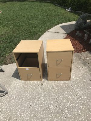 Wooden filing cabinets for Sale in Maitland, FL