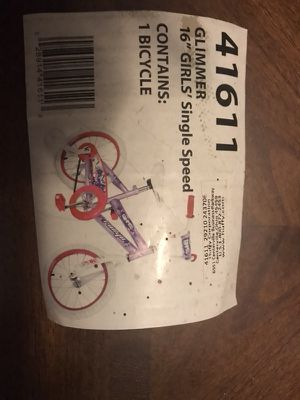 Brand new 16 inch girls bike single speed Great for a gift 🎁 for Sale in Chicago, IL