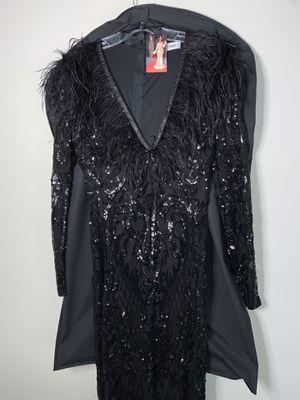 Long sleeve black sequin gown for Sale in Woodbridge, VA