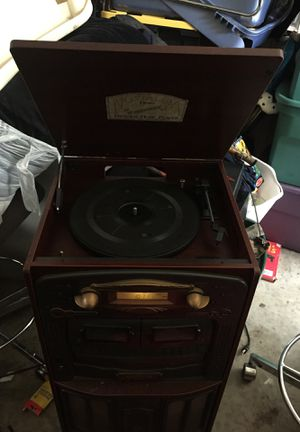 Nostalgia record cassette. And radio player for Sale in Durham, NC