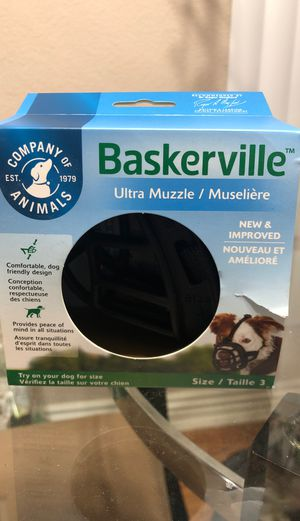 Ultra muzzle for dogs for Sale in Santa Ana, CA