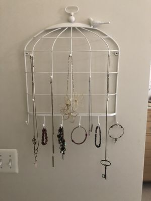 Urban outfitters birdcage wall decor jewelry holder for Sale in Fairfax, VA