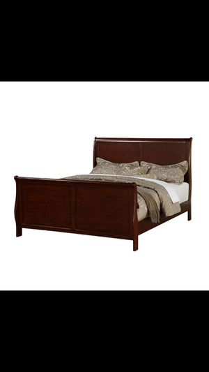 Pet and Smoke Free Sleigh bed frame. Good condition for Sale in Baltimore, MD