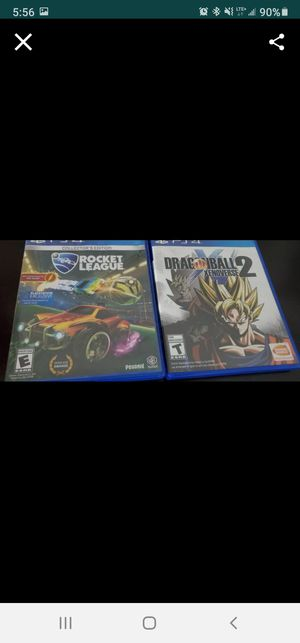 PS4 GAMES for Sale in Goodyear, AZ