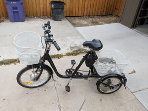 Electric adult tricycle for Sale in Denver, CO