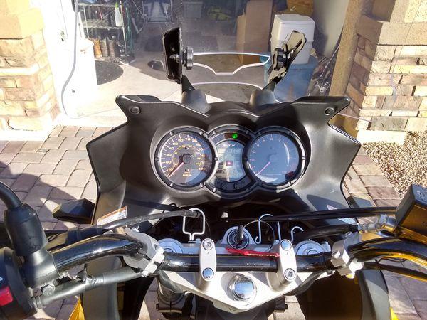 2008 Suzuki vstrom 650 + gear obo