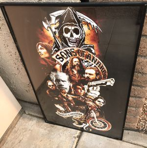 Sons of Anarchy Poster for Sale in Phoenix, AZ