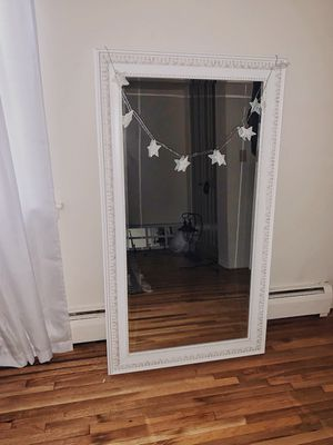 Large White Wall Mirror for Sale in North Brunswick Township, NJ