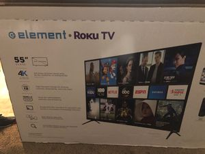 Brand new smart element tv 55 inch for Sale in Blacklick, OH