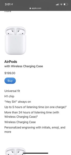 Brand new AirPods for Sale in S WILLIAMSPOR, PA