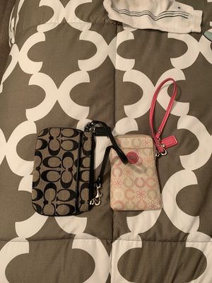 Coach wristlets for Sale in Tinley Park, IL