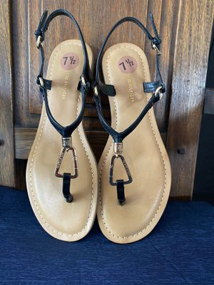 Tommy Hilfiger leather sandals for Sale in Tamarac, FL