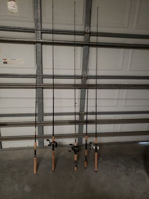 Fishing rods/reels for Sale in Valrico, FL