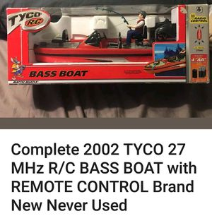 2002 Tyco RC bass boat for Sale in Barnhart, MO