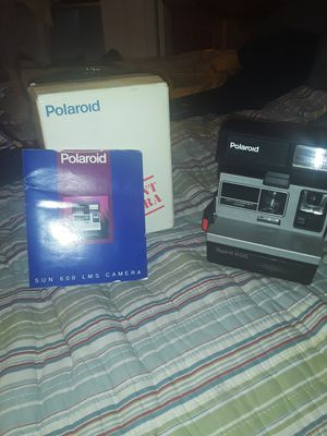Old poloroid camera like new stjll has original box for Sale in New Orleans, LA