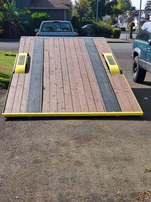 Tandem axle hydraulic tilt car trailer for Sale in Portland, OR