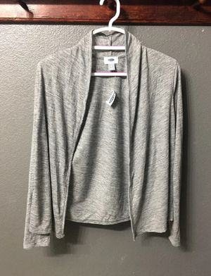 NEW Old Navy Grey Cardigan for Sale in Las Vegas, NV