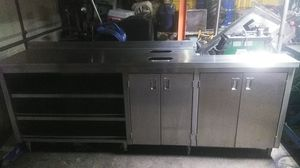 Stainless steel kitchen cabinet for Sale in Lodi, CA