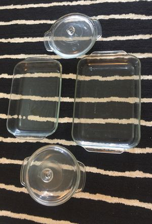 Pyrex serving set for baking for Sale in Lombard, IL