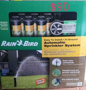 Rainbird 6 sprinkler compelete system for Sale in Bakersfield, CA