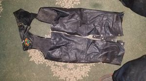 Leather jackets and chaps. Motorcycle gear for Sale in Circleville, OH