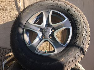 2019 Jeep Wrangler rims for Sale in Mesa, AZ