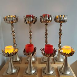 Gold Lotus Candle Holders for Sale in Seattle,  WA