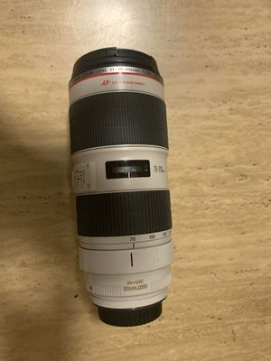 Canon 70-200 f2.8 lens for Sale in Westminster, CA