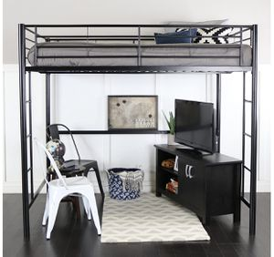 Twin size loft bed for Sale in Gladewater, TX