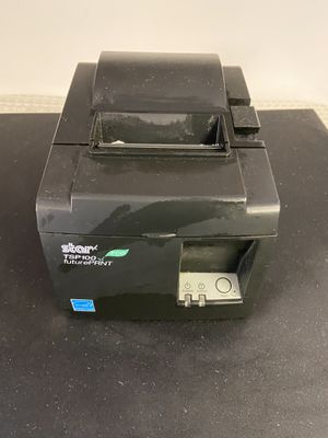 Star TSP-100 thermal printer for POS systems . Works with square for Sale in Atlanta, GA