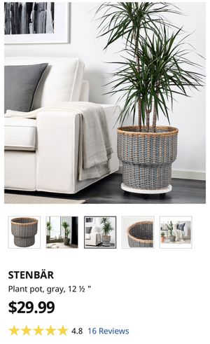 IKEA STENBÄR Plant Pot for Sale in New York, NY