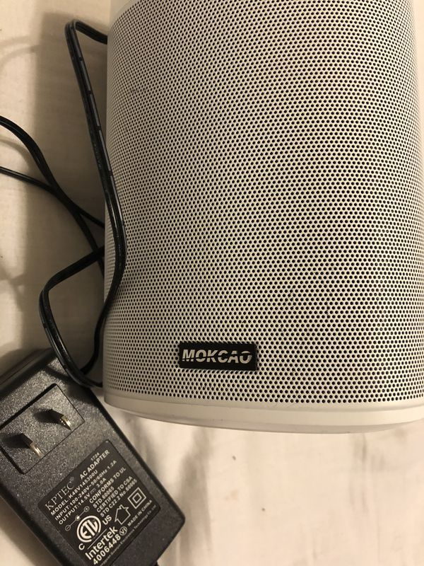 Mokcao Bluetooth Speaker 7 inches high