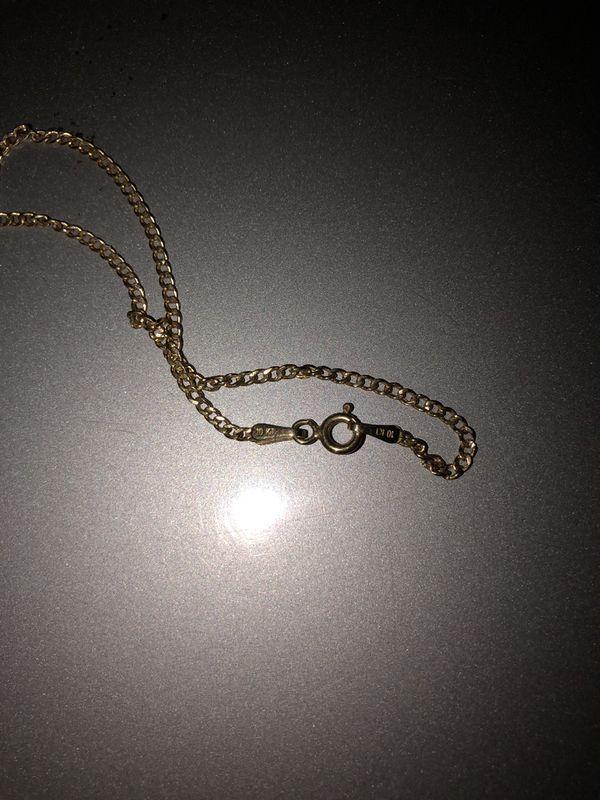 10k gold kids necklace