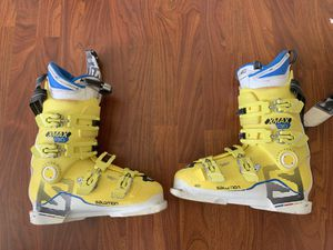 Salomon X Max 130 ski boots 26 - 26.5 for Sale in Seattle, WA