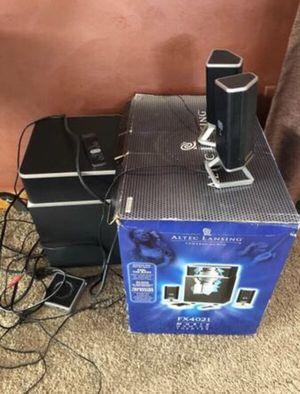 Altec Lansing FX4021 2.1 Powered Audio Speaker System for Sale in Bayonne, NJ