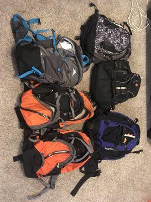 Backpacks! 🎒 Kelty, Swiss Gear, Jansport, High Sierra for Sale in Mount Vernon, WA