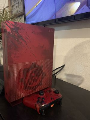 Limited Edition Gears of War 4 Xbox One s 2TB for Sale in Murrieta, CA