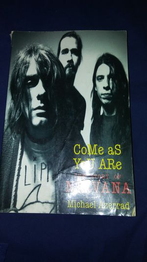 Pre-owned NIRVANA book come as you are good condition for Sale in Commerce, CA