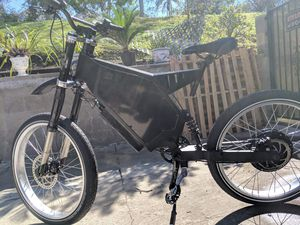 Used 45mph 8400 watt Electric bike bicycle ebike stealth bomber for Sale in ROWLAND HGHTS, CA