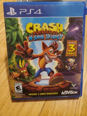 PS4 Crash Bandicoot for Sale in Dublin, OH