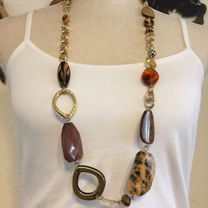 Vintage chunky resin bead chain link necklace for Sale in Henderson, NV