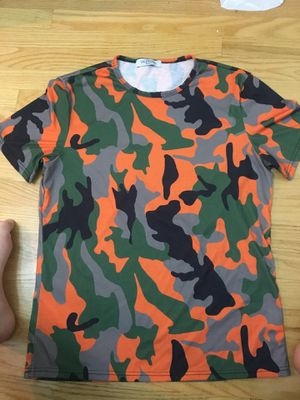 Valentino Men's Camouflage T-Shirt for Sale for sale  New York, NY