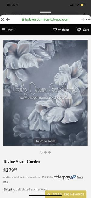 Baby dream photography backdrop fleece 8x 10 for Sale in Murfreesboro, TN