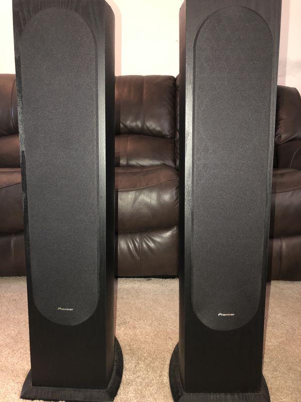 Pioneer Andrew Jones designed 5.0 HT speakers